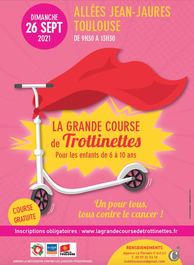 La Grande Course de Trottinettes à Toulouse